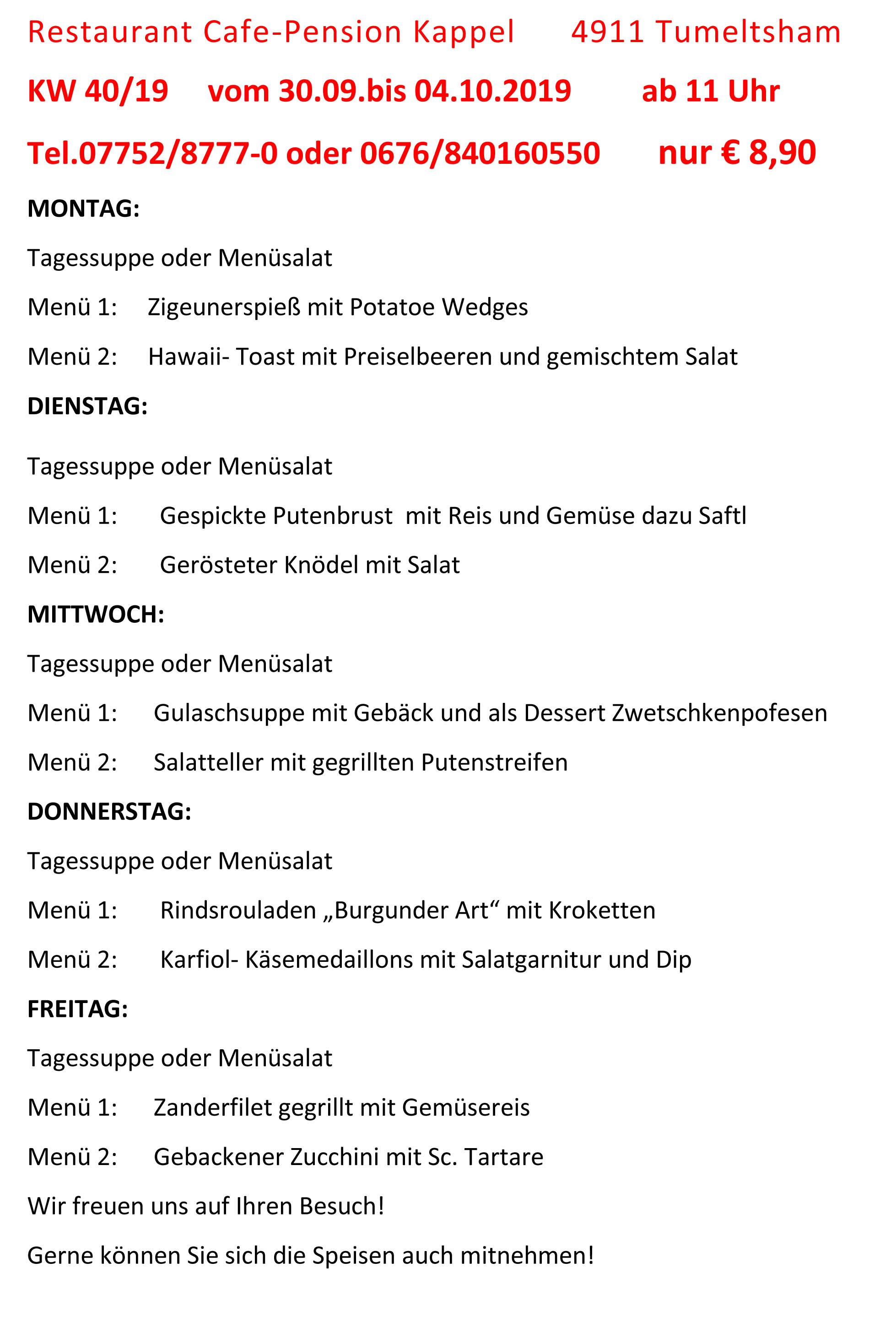 Menüplan KW 40-19 (1)