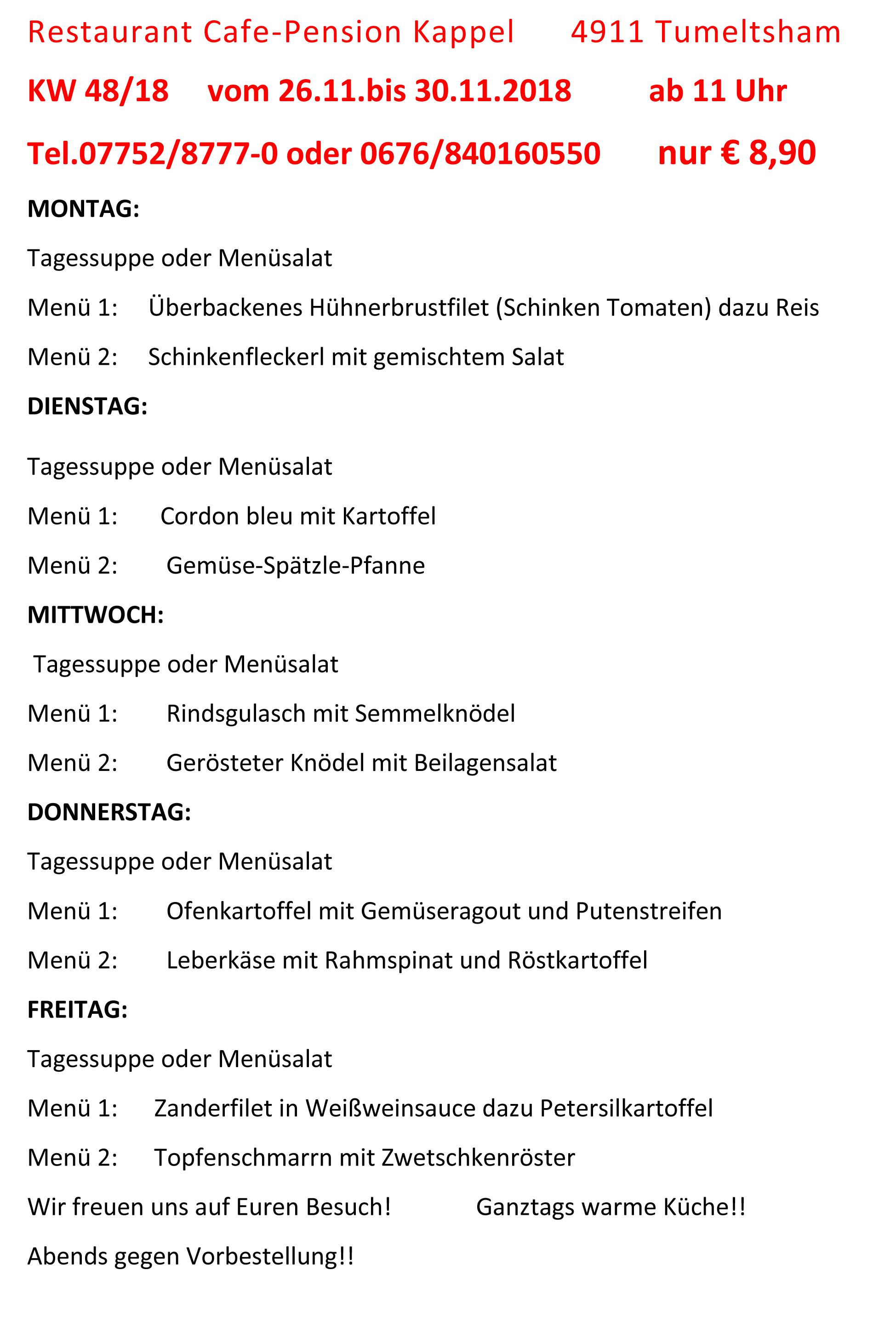 Menüplan KW 48-18 (1)